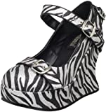 Pleaser Womens Bravo-10G Wedge Sandal