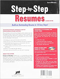step by step resumes build an outstanding resume in 10