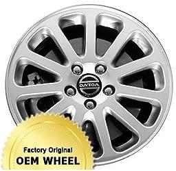 VOLVO 60 SERIES,70 SERIES,80 SERIES 16×7 11 SPOKE Factory Oem Wheel Rim- SILVER – Remanufactured