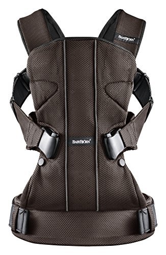 Babybjorn Baby Carrier One, Brown/Black front-72609