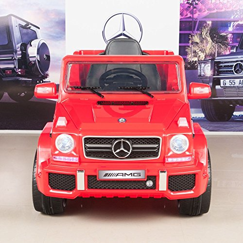 Mercedes Benz G63 12V Battery Power Ride On Car Kids Toy Truck w/ Parent Remote