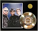 Bee Gees Gold Record Reproduction Signature Series LTD Edition Display
