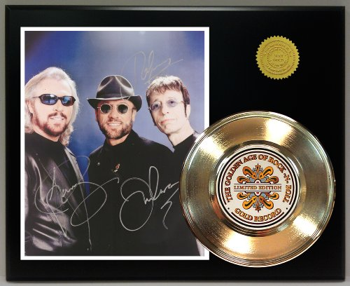 Bee-Gees-Gold-Record-Reproduction-Signature-Series-LTD-Edition-Display