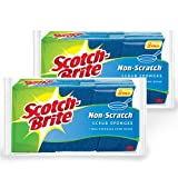 Scotch-Brite Non-scratch Scrub Sponge 529, 9-Count (Pack of 2)