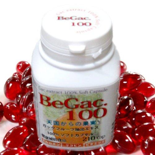 BeGac.100 ガックエキス100% ソフトカプセル 210粒 美学