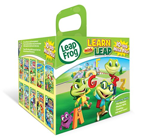 Leapfrog 10-dvd Mega Pack (Dvd Packs compare prices)