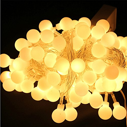 5 Metre 220V Led Fairy Tale String Light Garden For Wedding Lamp Decoration, Christmas And Birthday Party Decoration Light (Warm White)