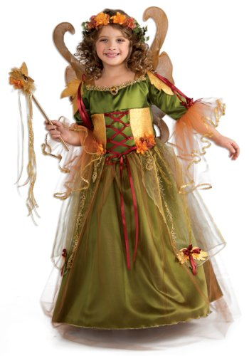 Forest Fairy Queen Kids Costume