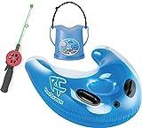 海見釣り君KA-9087+スノーケリングフロートRA0501+のぞきメガネRN13 (ブルー)
