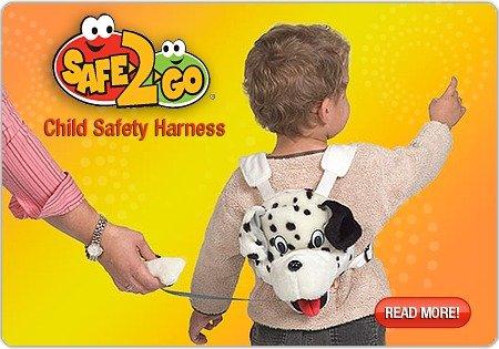 Imagen de Sherpa bebé arnés de seguridad para niños Safe2Go Backpack - elefante w / hoja