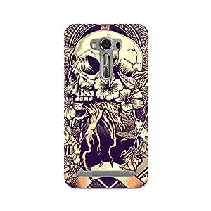 Mobicture Skeleton Love Premium Printed Case For Asus Zenfone 2 Laser ZE550KL