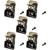 DeWalt N169778 OEM Belt Clip/Hook for 20V Max DCD980 DCD985 DCD980L2 DCD985L2 (5 Pack) (Color: Original Version)