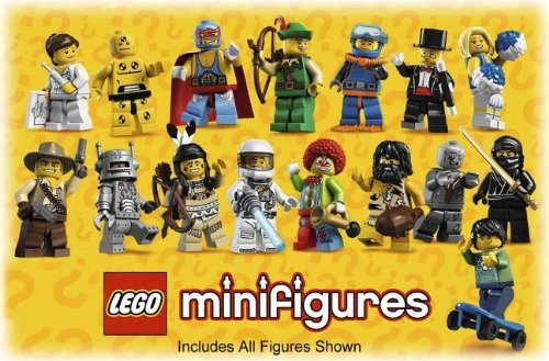 Complete Set of 16 Mini Figures
