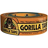 "Gorilla Glue Double Thick Adhesive Black Gorilla Tape, 35 yds Length x 1.88"" Width"