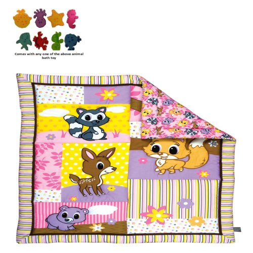 Woodland Animals Baby Bedding 193 front
