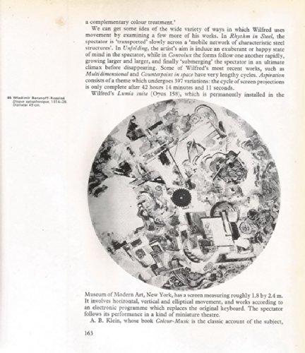 Origins and Development of Kinetic Art