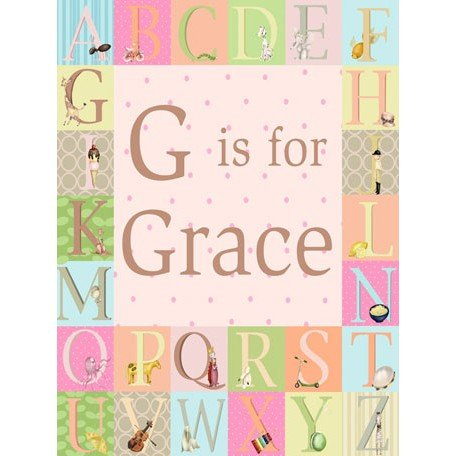Personalized Alphabet Wall Art front-1035782