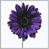 X5 single stem purple gerbera artificial silk