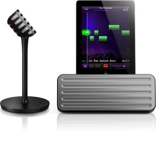 Philips AEA7100/17 StarMaker Wireless Bluetooth Portable Speaker & Wireless Karaoke Mic