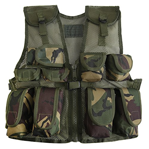 Kids Army Camo Assault Vest