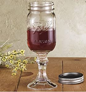 The ORIGINAL Redneck Wine Glass - Wine Down Redneck Style