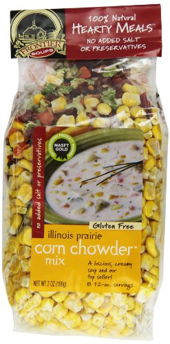 Frontier Soups Hearty Meals Illinois Prairie Corn Chowder Mix, 7 Ounce (Hearty Soup Mix compare prices)