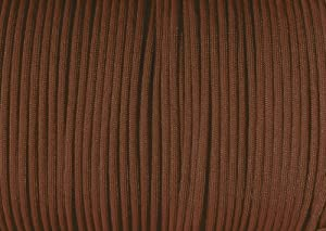 Parachute Cord Nylon 7 Strand 550lb Tested U.S MADE 100' (Chocolate Brown)