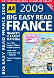 AA Publishing AA Big Easy Read France (AA Atlases and Maps)