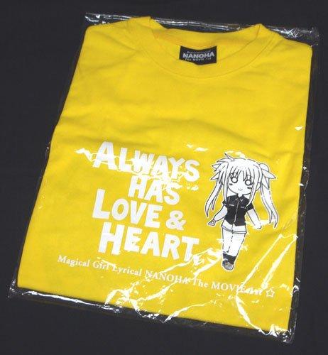 魔法少女リリカルなのは フェイト・両手に愛を Tシャツ 都築真紀 描き下ろし C78