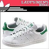 (アディダス オリジナルス)adidas Originals レディース STAN SMITH W スニーカー スタンスミス ウーマン メンズ B35443 ホワイト グリーン US9-26.0 (並行輸入品)