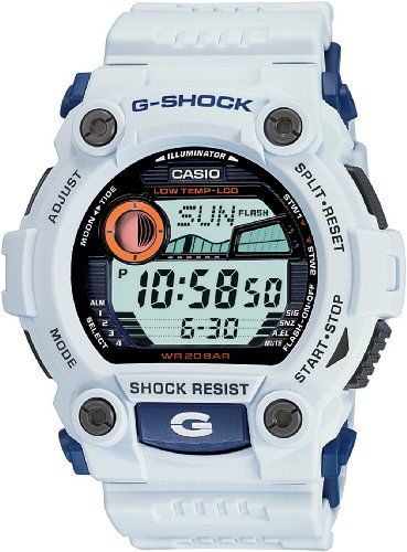 Casio Men&#8217;s G7900A-7 G-Shock Rescue White Digital Sport Watch