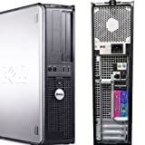 Windows 7 Professional, Dell 745 Optiplex Desktop Computer, Featuring Intels Powerful & Efficient 3.4GHz Pentium D Dual Core CPU Processor, 500GB Ultra Fast 7200 RPM SATA hard drive, CDRW/DVD SATA Ultra Speed Drive, 4GB DDR2 Dual Interlaced High Performance Memory, Providing Power for Today or Future Needs, Wireless Capable (Adapter Sold Separately)