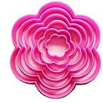 Fulldream 6pcs Plum Blossom Flower Sh...