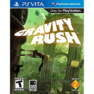 Gravity Rush PS Vita Video Game