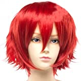 Fashion Long Bangs Natural Straight Short Hair Wig, Length approx: 16cm(Red) Reviews