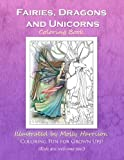 img - for Fairies, Dragons and Unicorns: by Molly Harrison Fantasy Art book / textbook / text book