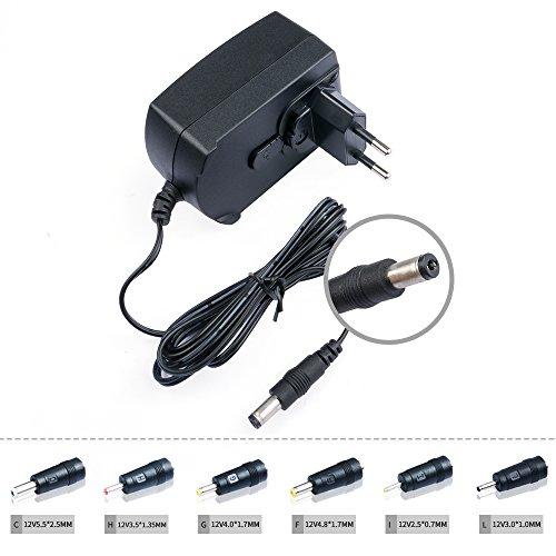 TAIFU-Universal-Netzteil-12V-2A-55-x-21mm-fr-5050-3528-LED-Strip-RGB-Drucker-HP-Scanner-Router-Fax-TFTLCD-Monitor-CCTV-IP-Kamera-BeckerBlaupunktVDO-DVR-Dockingstation-externe-Festplattengehuse-fr-Keyb