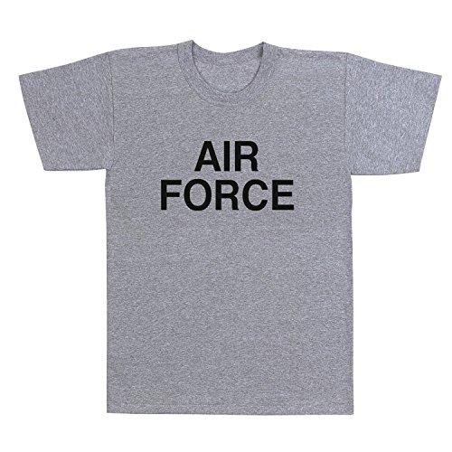 Grey ''Air Force'' P/T Shirt