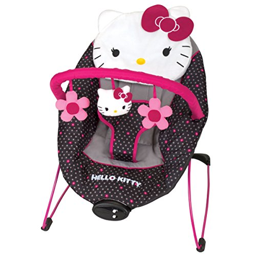 Baby-Trend-Hello-Kitty-EZ-Bouncer-Polka-Dot