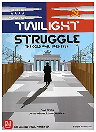 GMT Games - Jeu de société (anglais) - Twilight Struggle The Cold War 1945-1989