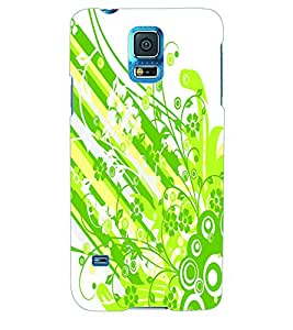 ColourCraft Flower Pattern Back Case Cover for SAMSUNG GALAXY S5 NEO