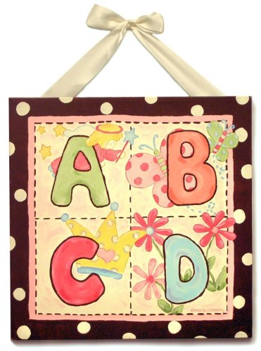 Kimberly Grant ABC & Me 1 Piece Canvas Artwork