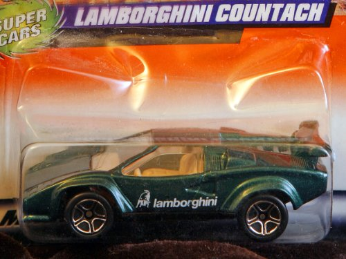 Matchbox 1998-60/75 Super Cars Lamborghini Countach 1:64 Scale