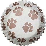 Paw Print Cupcake Cases