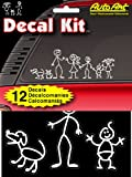 Chroma Graphics 5309 Decal Kitz 6 x 8 Stick People Self-Adhesive Decal Kit