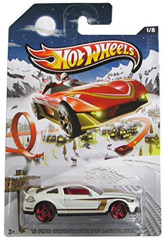 2013 Hot Wheels Holiday Hot Rods - '12 Ford Mustang Boss 302 Laguna Seca - 1