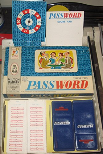 1964 Milton Bradley Password Volume Four - 1