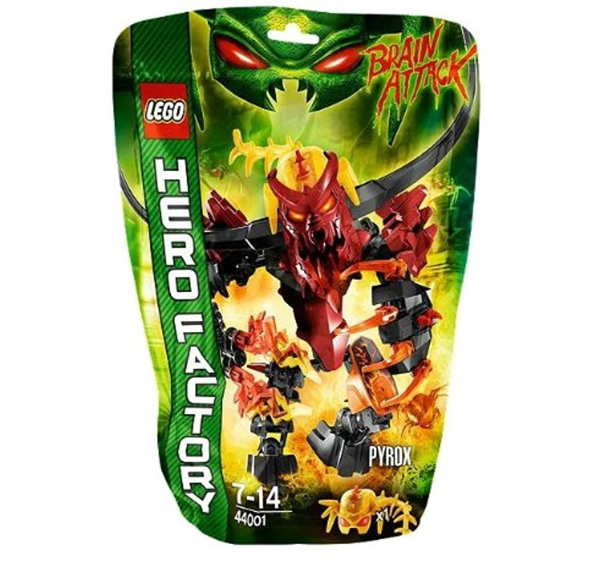 [해외] LEGO 히어로 팩토리 PYROX 44001-44001