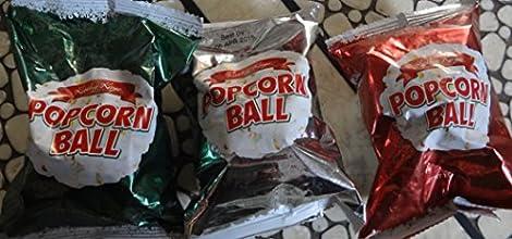 Kathy Kaye Popcorn Ball 1 Oz Pack of 3 Color May Very