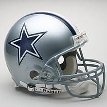 Dallas Cowboys Pro Line Helmet Features Official Team Decals Official Team Decals by CAS